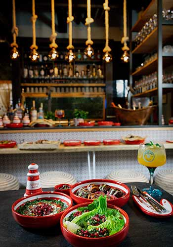 Hummus, Falafel, Mezze - Servus Habibi Restaurant München